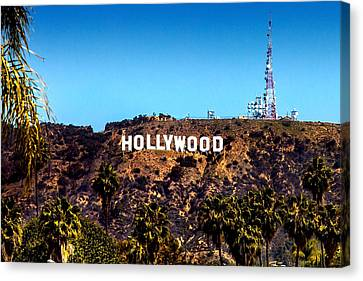 Hollywood Sign Canvas Print by Az Jackson