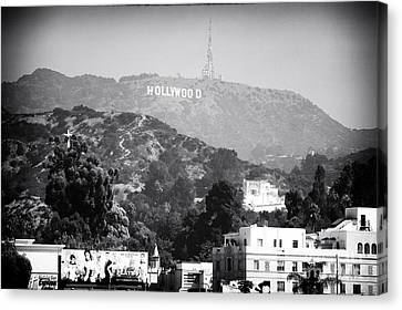 Hollywood Sign Canvas Print by John Rizzuto