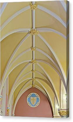 Holy Arches Canvas Print by Susan Candelario