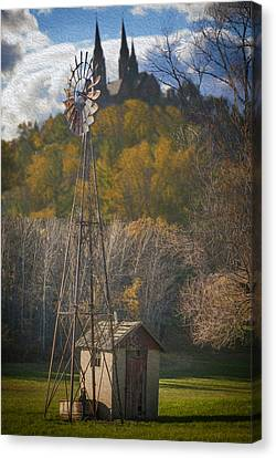 Holy Hill  Wisconsin Canvas Print by Jack Zulli