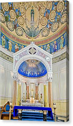 Holy Mary Canvas Print by Susan Candelario