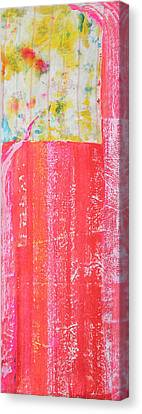 Homage To Old Paint Rags Canvas Print by Asha Carolyn Young