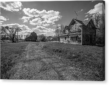 Home Canvas Print by Aaron J Groen