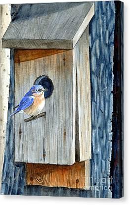 Home Again Canvas Print by John W Walker