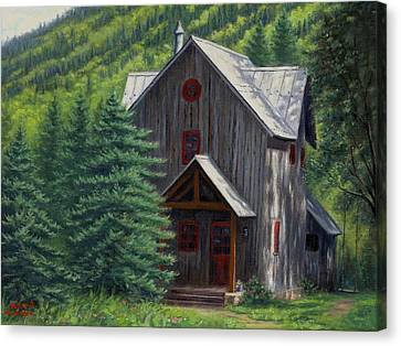 Home Away From Home Canvas Print by Asa Gochenour