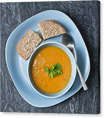 Home Made Soup Canvas Print by Tom Gowanlock
