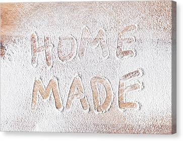 Home Made Canvas Print by Tom Gowanlock