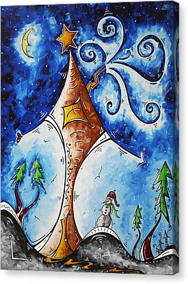 Home Sweet Home Canvas Print by Megan Duncanson