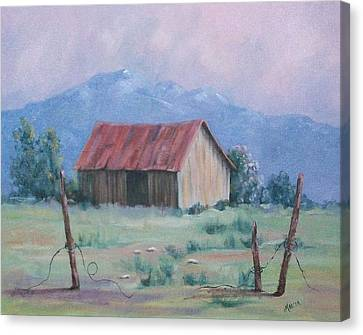 Homestead Canvas Print by Marcea Clive