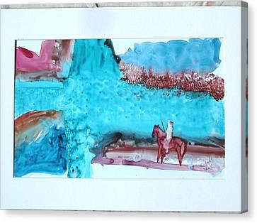 Homeward Bound Canvas Print by Keith Thue