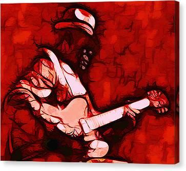 Honeyboy Canvas Print by Terry Fiala