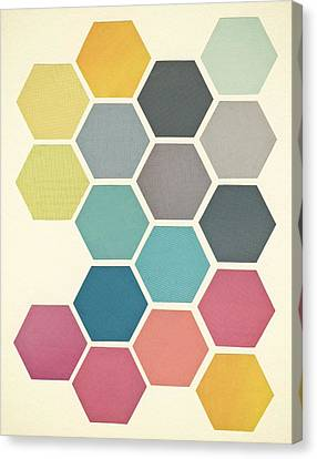 Honeycomb II Canvas Print by Cassia Beck