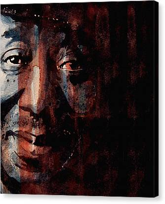 Hoochie Coochie Man Canvas Print by Paul Lovering