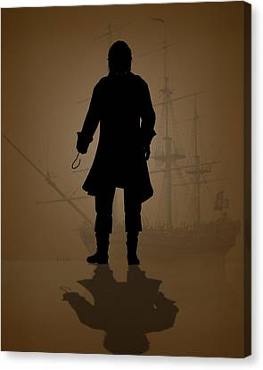 Hook Canvas Print by Bob Orsillo