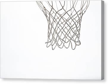 Hoops Canvas Print by Karol Livote