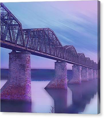 Hope Bridge Soft Canvas Print by Tony Rubino