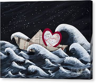 Hope Floats Canvas Print by Kerri Ertman