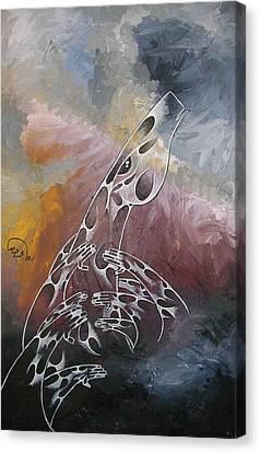 Hope Canvas Print by Ali ArtDesign