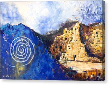 Hopi Spirit Canvas Print by Jerry McElroy