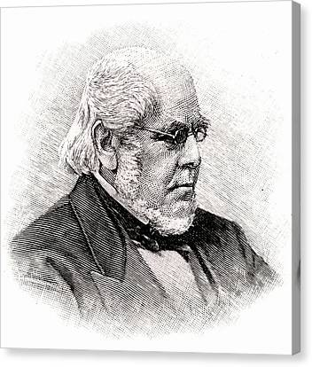 Horatio Allen Canvas Print by Universal History Archive/uig