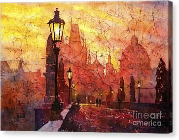 Horizontal Flip Canvas Print by Ryan Fox