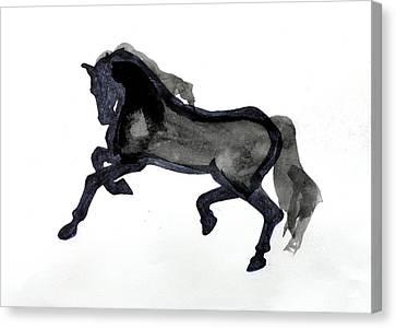 Horse II Canvas Print by Nancy Mauerman