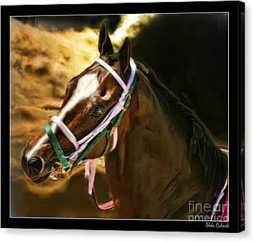 Horse Last Memories Canvas Print by Blake Richards