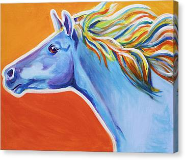 Horse - Like The Wind Canvas Print by Alicia VanNoy Call