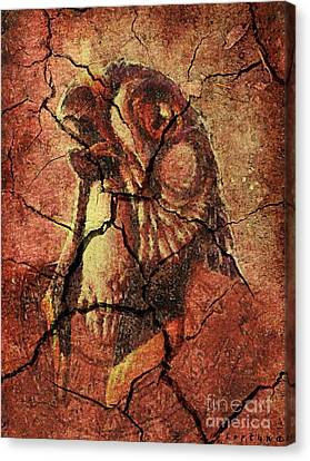Horus - Wall Art Canvas Print by Dragica  Micki Fortuna