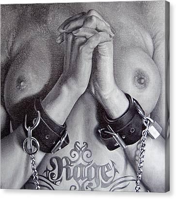 Hostage Canvas Print by Brent Schreiber