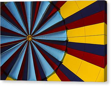 Hot Air Balloon Graphic Canvas Print by Garry Gay