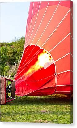 Hot Air Balloon Canvas Print by Tom Gowanlock
