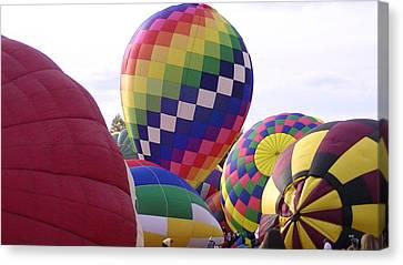 Hot Air Balloons Canvas Print by Lee Hartsell