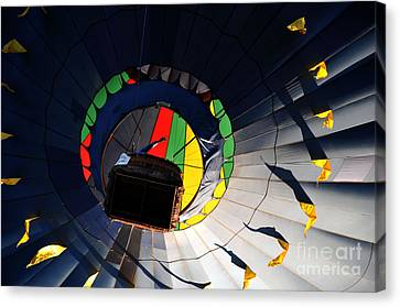Hot Air Up Canvas Print by Leon Hollins III