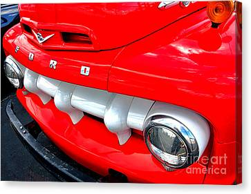 Hot Ford Canvas Print by Olivier Le Queinec