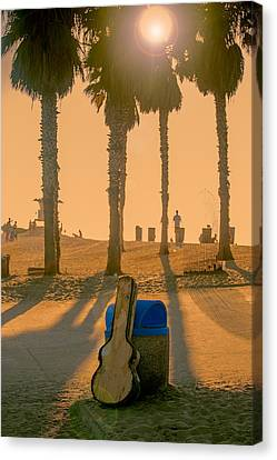 Hotel California Canvas Print by Peter Tellone