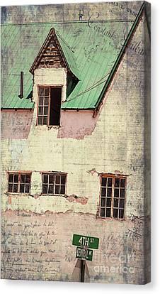 Hotel Del Rio  Canvas Print by Janice Rae Pariza
