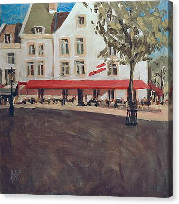 Hotel La Colombe Early Autumn Canvas Print by Nop Briex