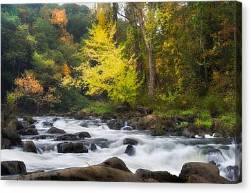 Housatonic River Canvas Print by Bill Wakeley