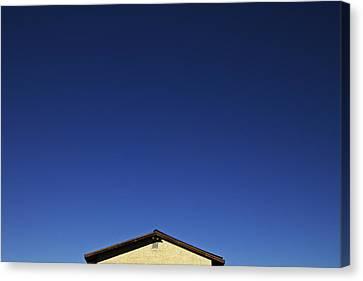 House Of Blue  Canvas Print by Mark M  Mellon