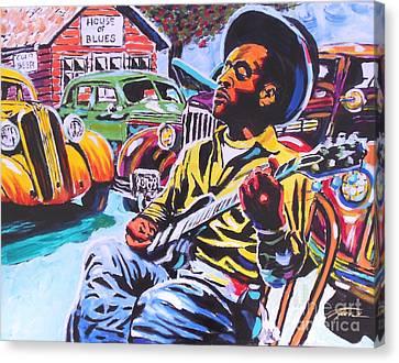 House Of Blues  Canvas Print by Jonathan Tyson