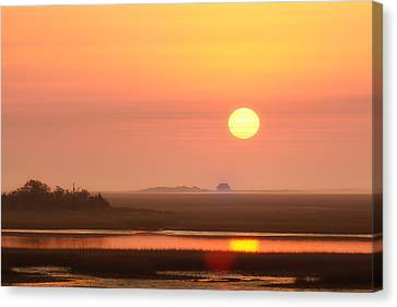 House Of The Rising Sun Canvas Print by Jo Ann Tomaselli