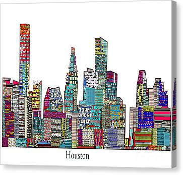 Houston Canvas Print by Bri B