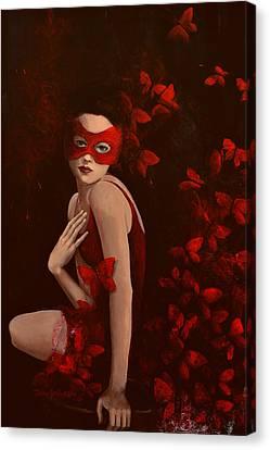How Long Do Butterflies Live Canvas Print by Dorina  Costras