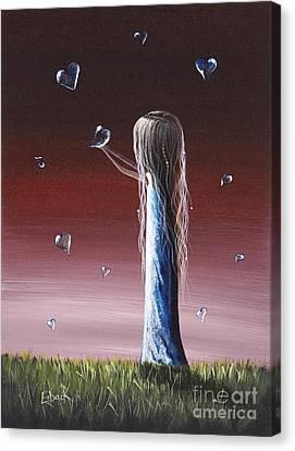 How She Says I Miss You By Shawna Erback Canvas Print by Shawna Erback