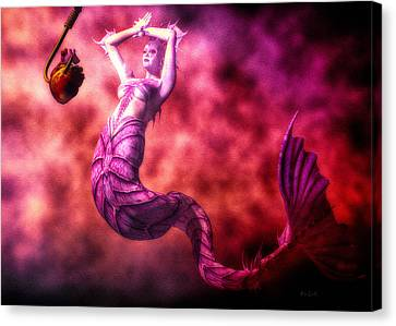 How To Catch Mermaids Canvas Print by Bob Orsillo