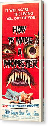 How To Make A Monster Canvas Print by MMG Archives