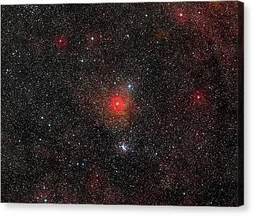 Hr 5171 Star Canvas Print by Eso/digitized Sky Survey 2