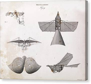 Human-powered Flight Canvas Print by Middle Temple Library