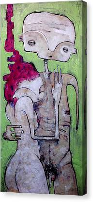 Humanitas No. 10  Canvas Print by Mark M  Mellon